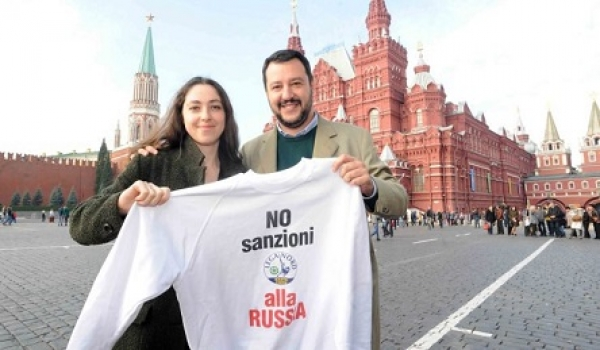 MATTEO SALVINI BACKS RUSSIA AND ATTACKS UKRAINE UNDERMINING ITALY'S PLACE IN EUROPE