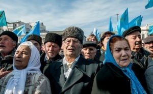 RUSSIAN OCCUPATION ADMINISTRATION IN UKRAINE'S SOUTHERN PENINSULA PERSECUTES CRIMEAN TATARS